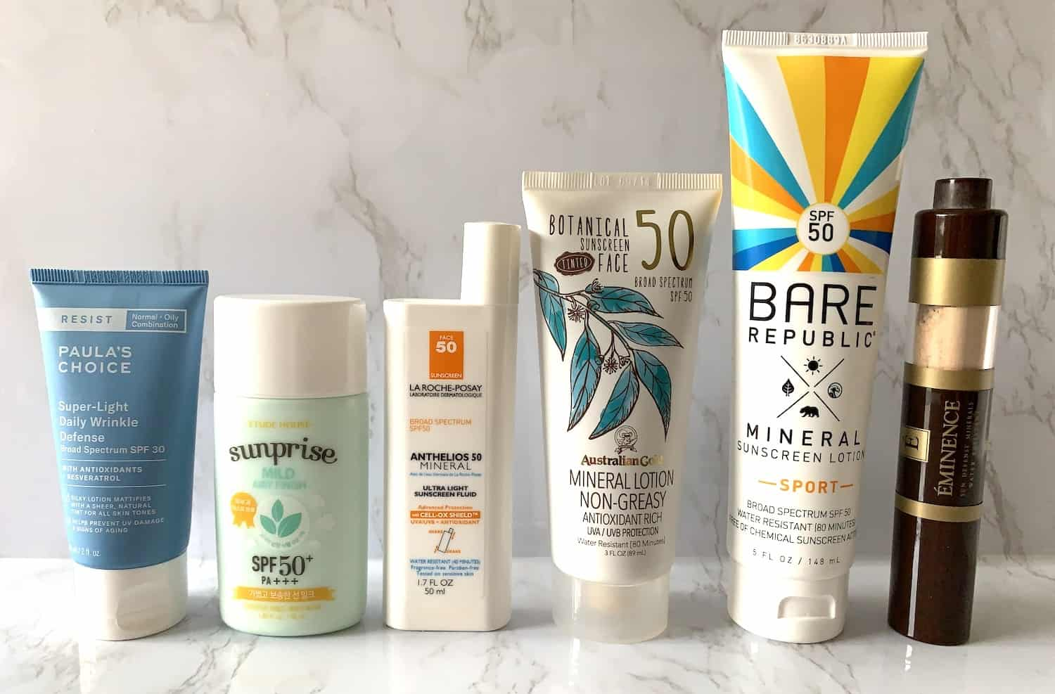Mineral Sunscreens for Face and Body