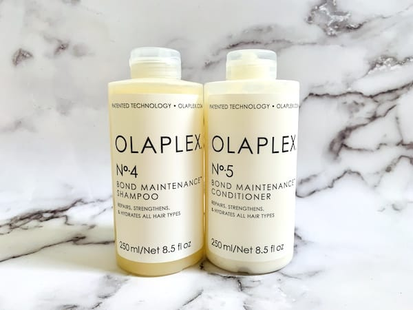 Olaplex No. 4 Bond Maintenance Shampoo and No.5 Conditioner