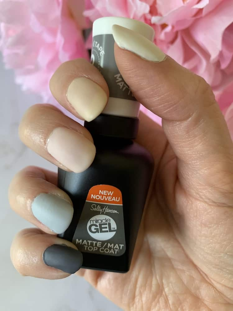 Sally Hansen Miracle Gel Nail Polish Manicure