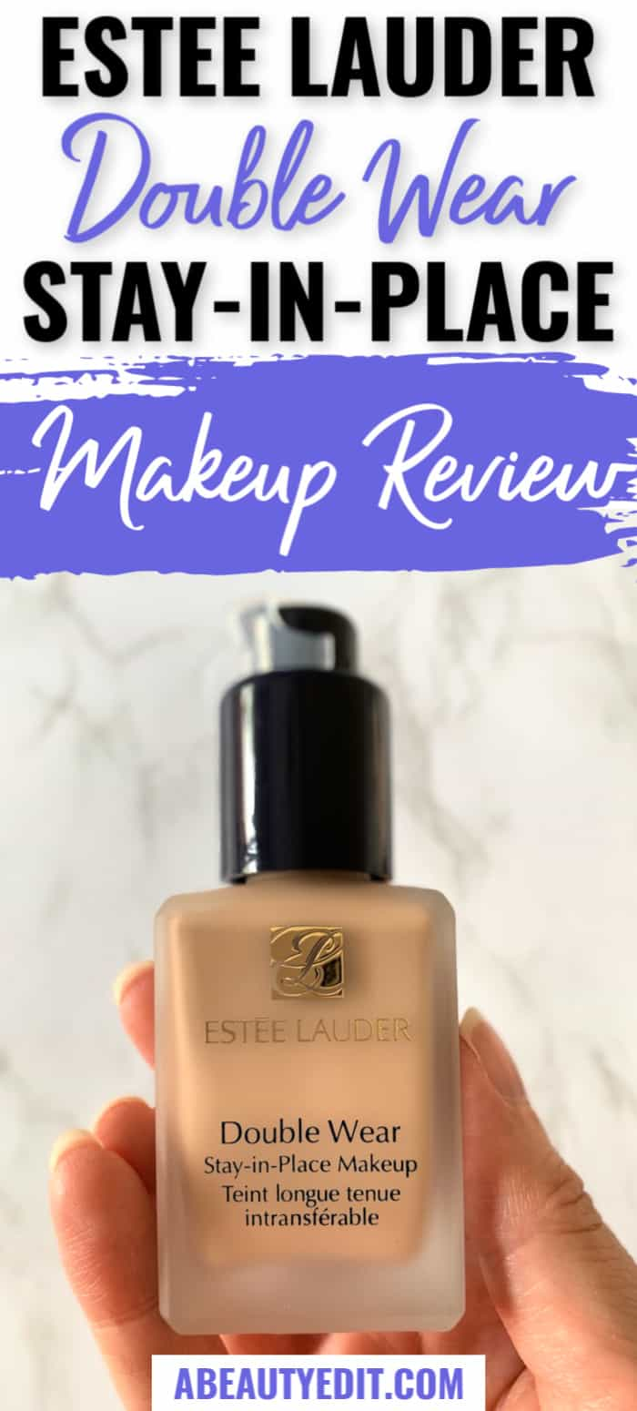 Estee Lauder Double Wear Stay In Place Makeup Review