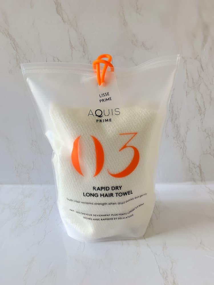 Aquis Lisse Luxe Rapid Dry Long Hair Towel