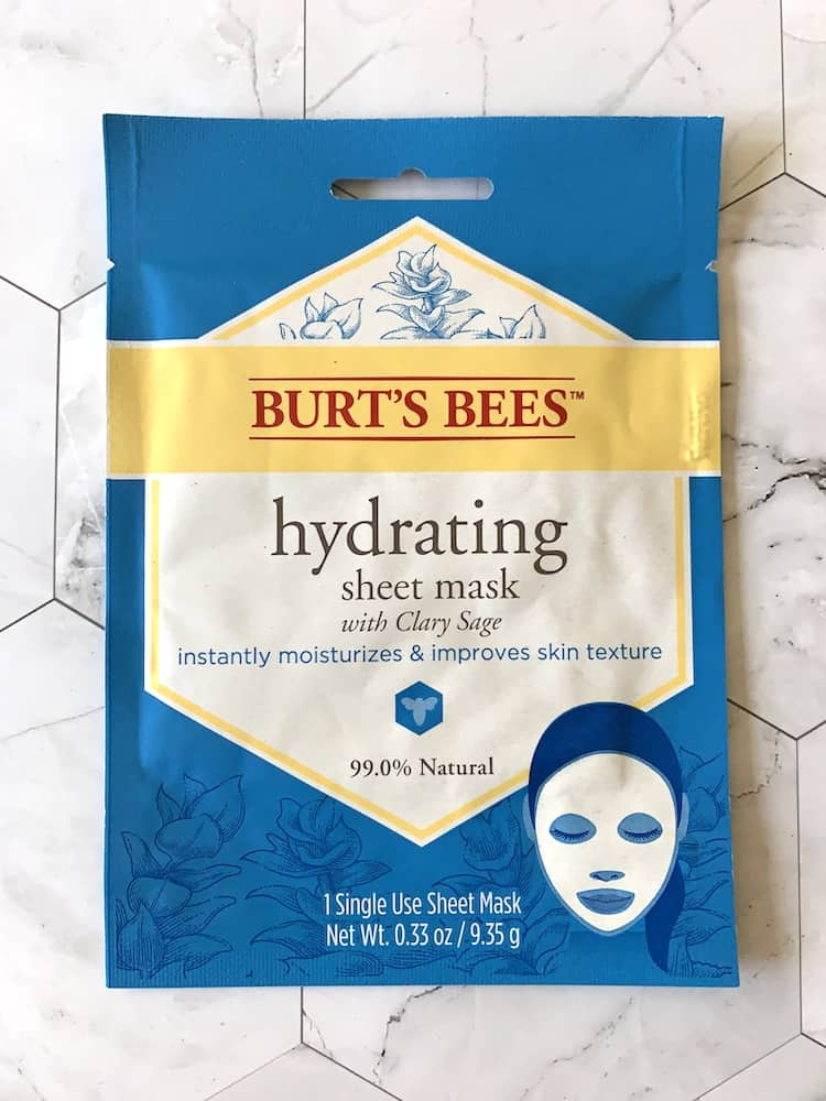 Burt's Bees Hydrating Sheet Mask with Clary Sage