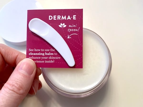 Derma E Essentials Universal Cleansing Balm with Spoon