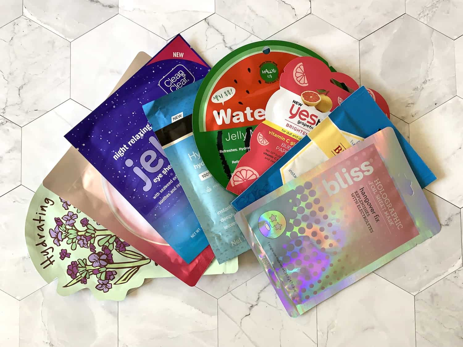 Drugstore Hydrating Sheet Masks for Glowing Skin