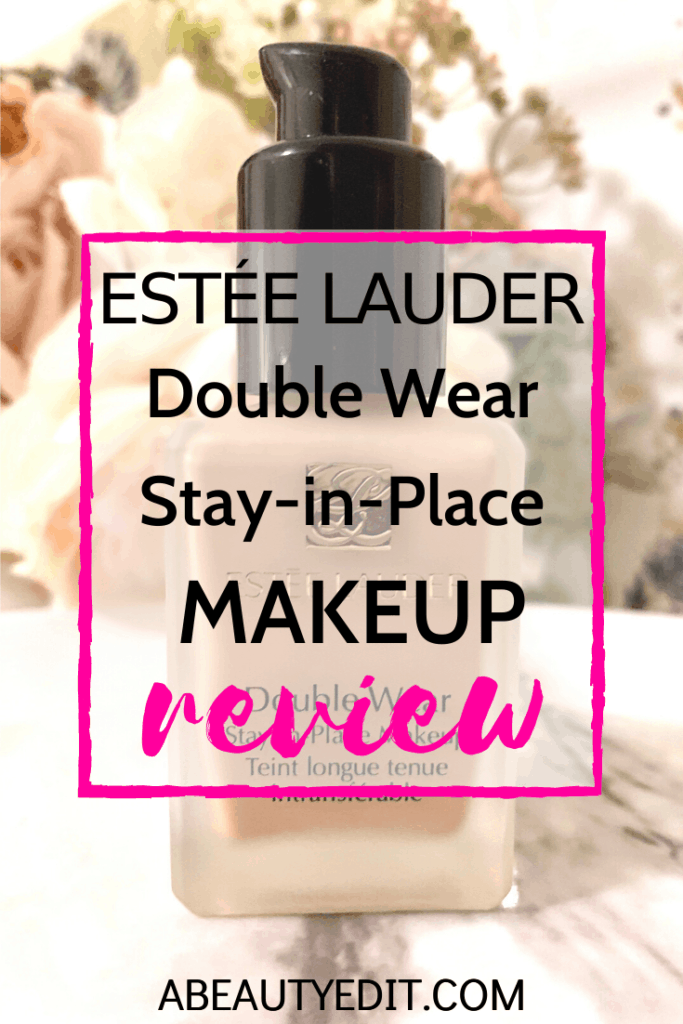 Estee Lauder Double Wear Stay-in-Place Makeup Review