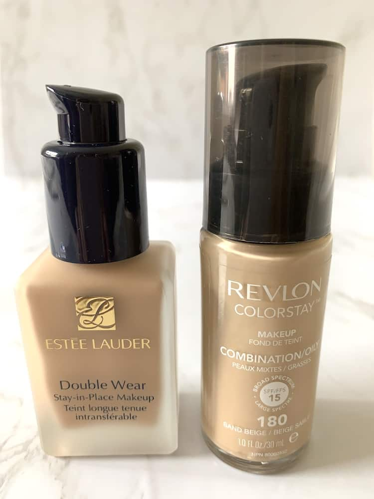 Estée Lauder Double Wear Stay-in-Place Makeup and Revlon ColorStay Makeup for Combination/Oily Skin