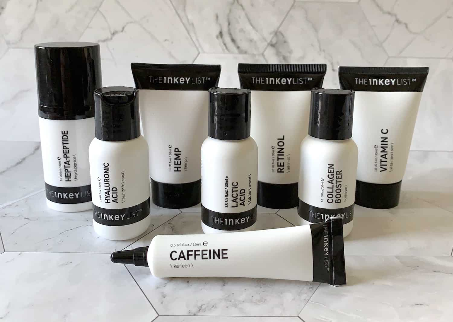 The Inkey List Budget Skincare Collection