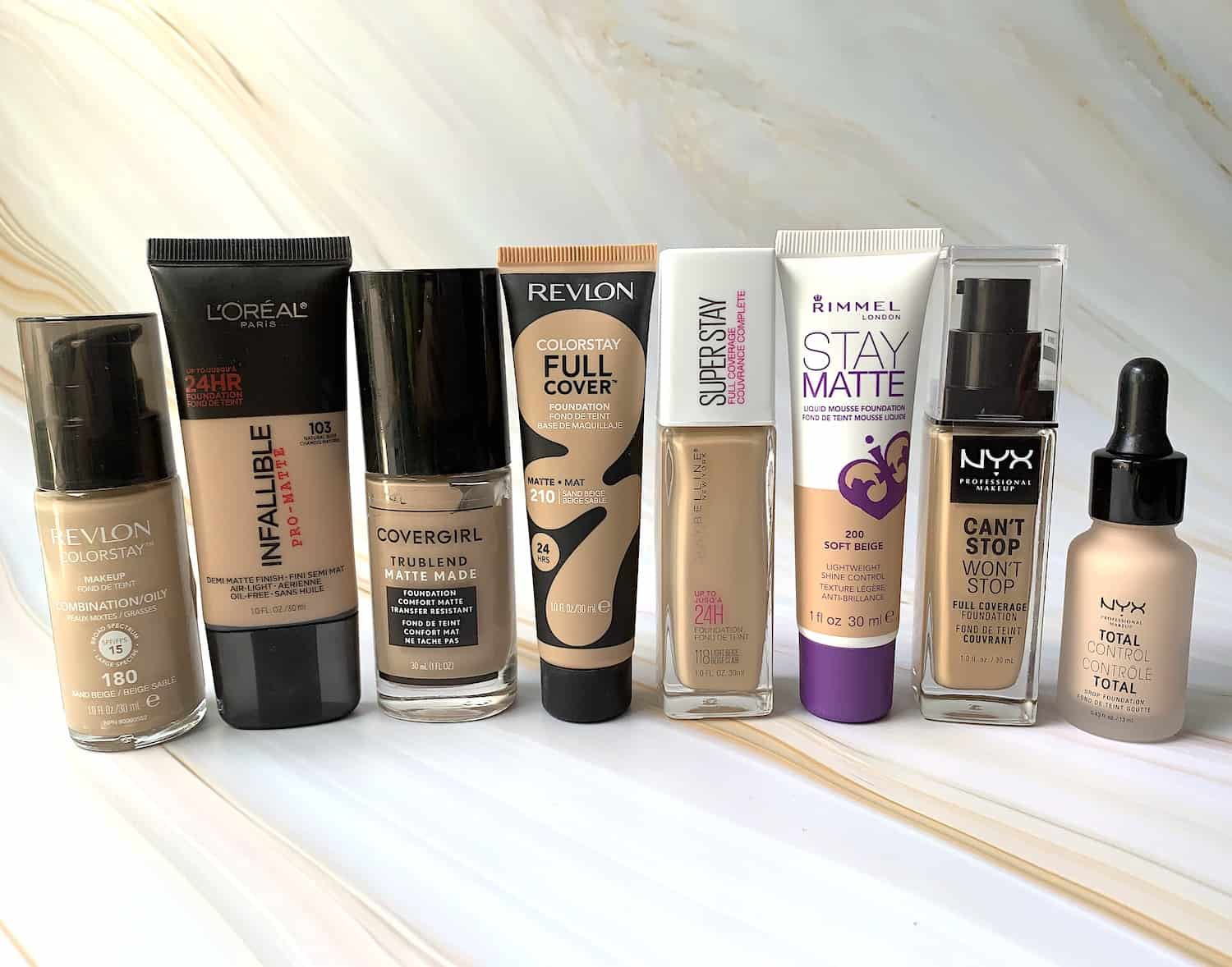 Full Coverage Drugstore Foundations For Oily Skin A Beauty Edit
