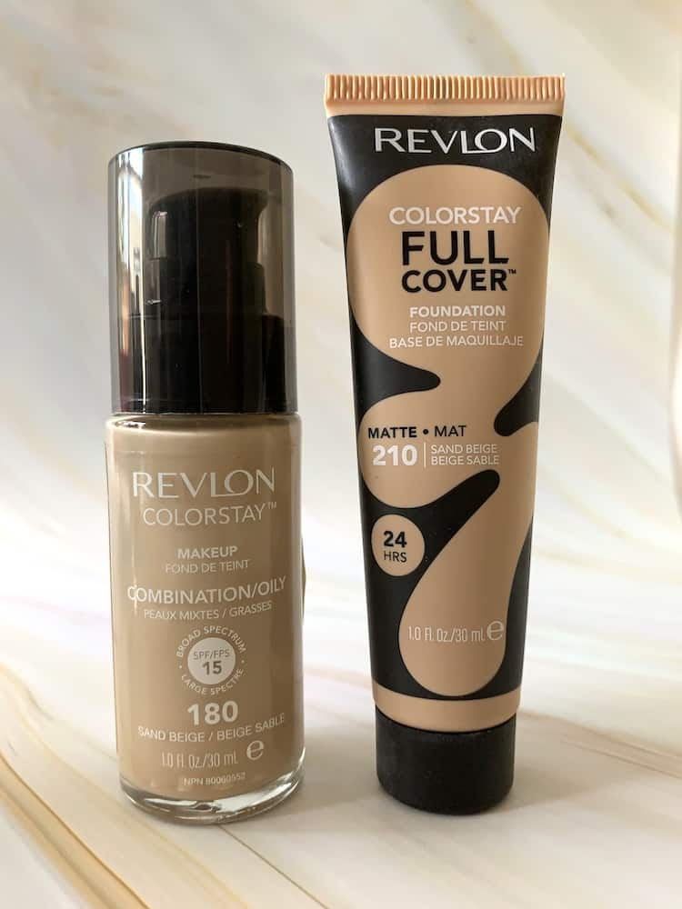Revlon ColorStay Makeup Combination/Oily and Revlon Colorstay Full Cover Foundation