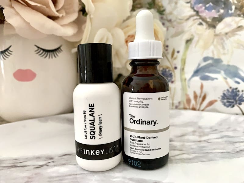 The Inkey List and The Ordinary Alpha Arbutin Serums