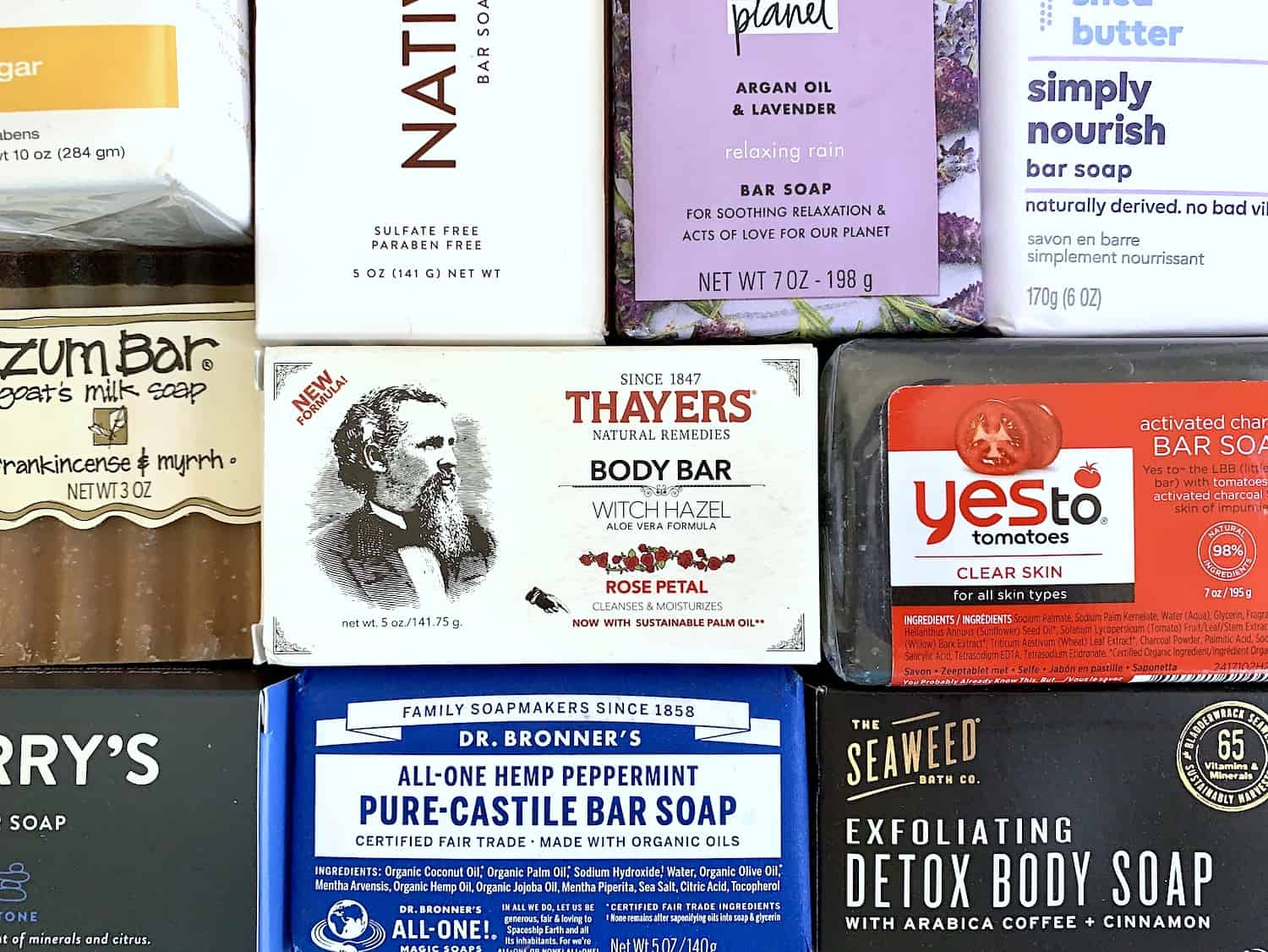 Not Your Average Drugstore Bar Soaps