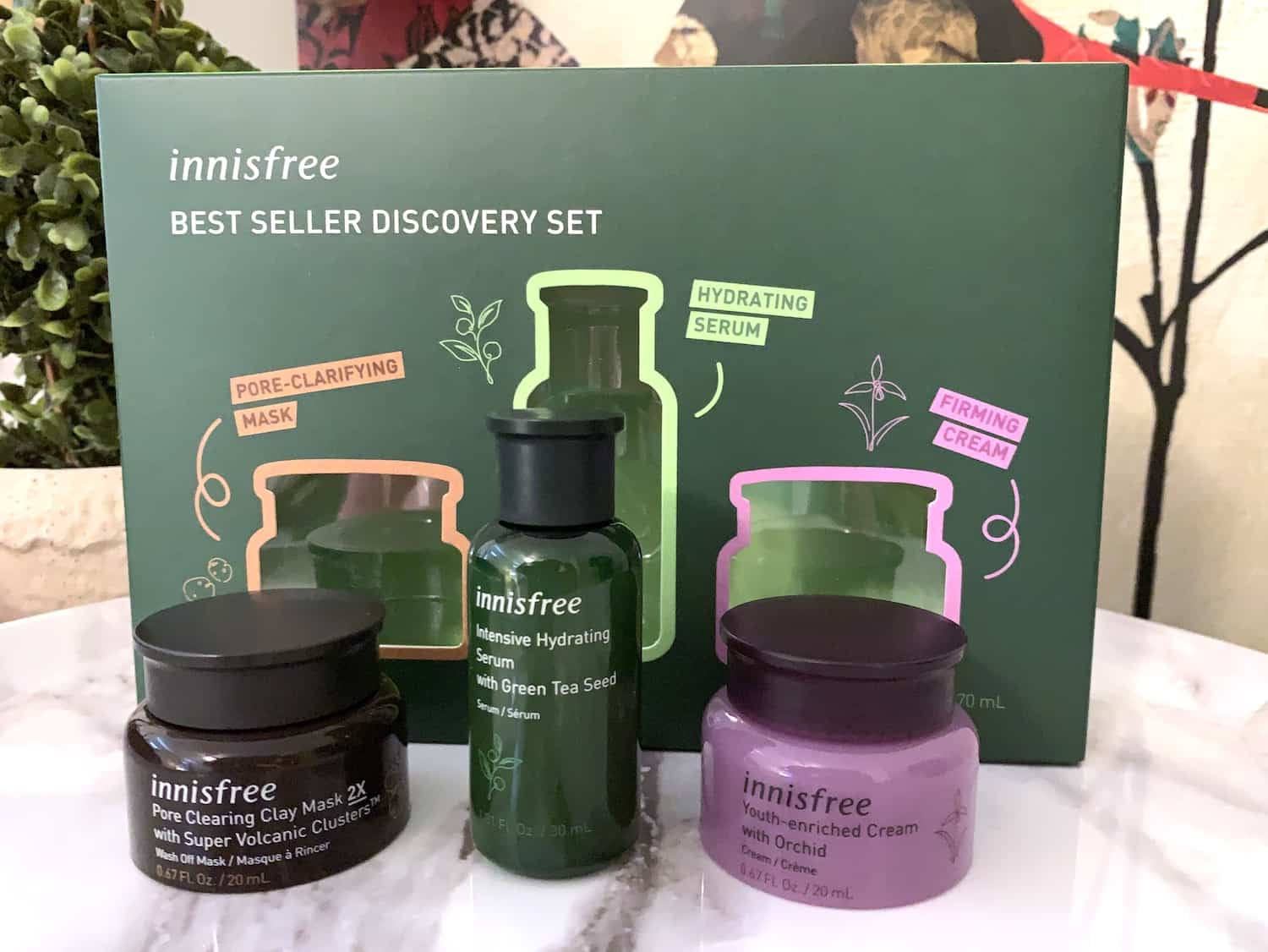 Innisfree K Beauty Best Seller Discovery Kit