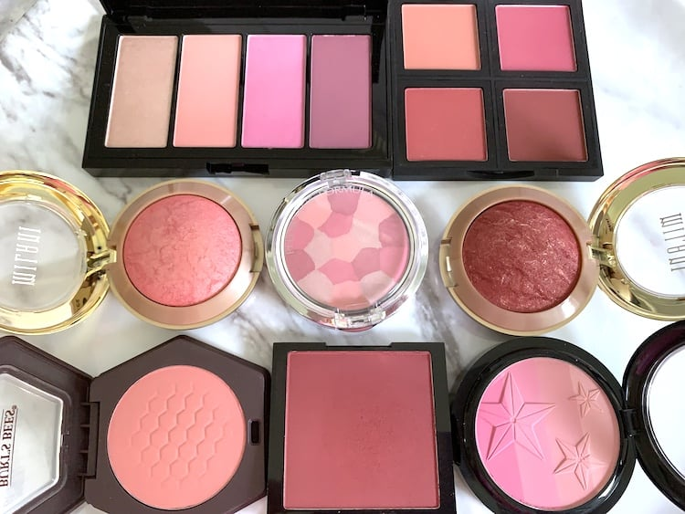 Pink Rose Wine Blushes Drugstore Edition