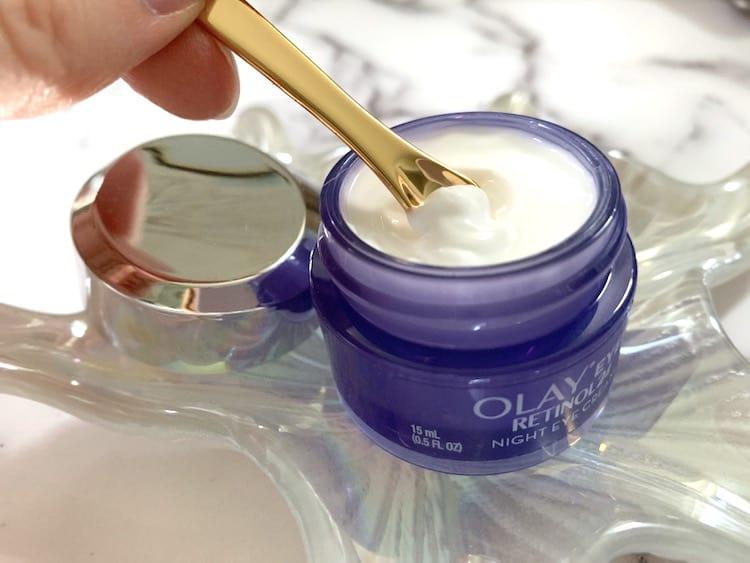 Olay Eyes Retinol24 Night Eye Cream with Spatula