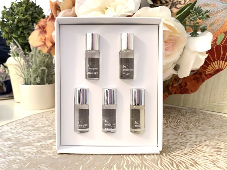 By Rosie Jane Clean Fragrance Discovery Set