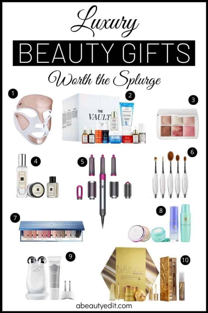 Luxury Beauty Gifts Worth the Splurge Collage