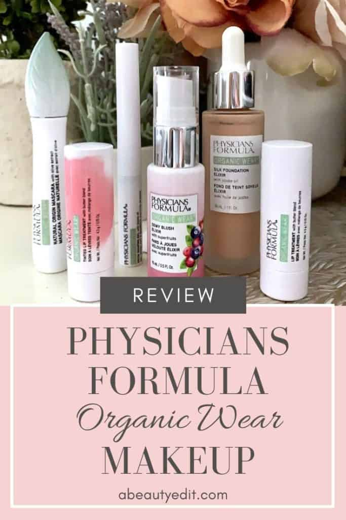 Physicians Formula Organic Wear Makeup Review