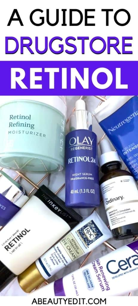 A Guide to Drugstore Retinol