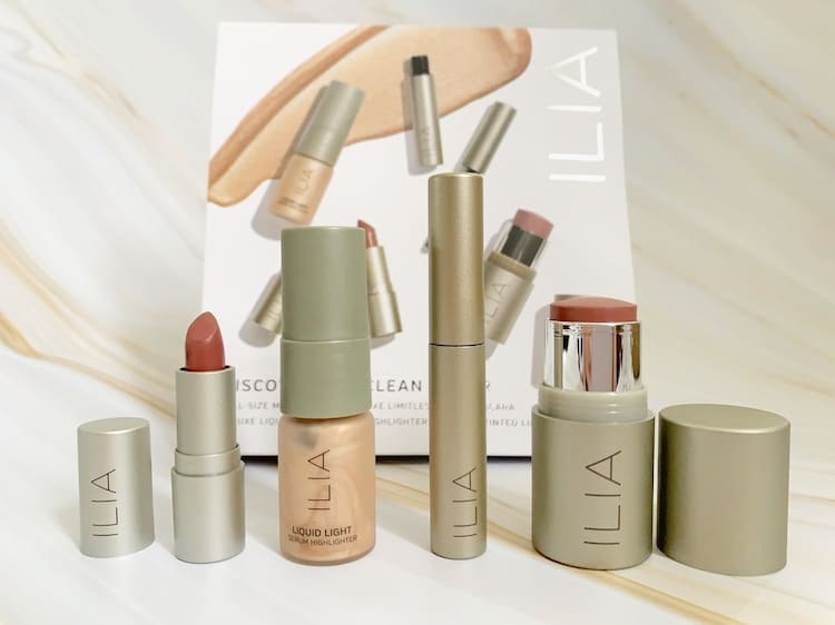 Discover ILIA Clean Color Makeup Set Opened