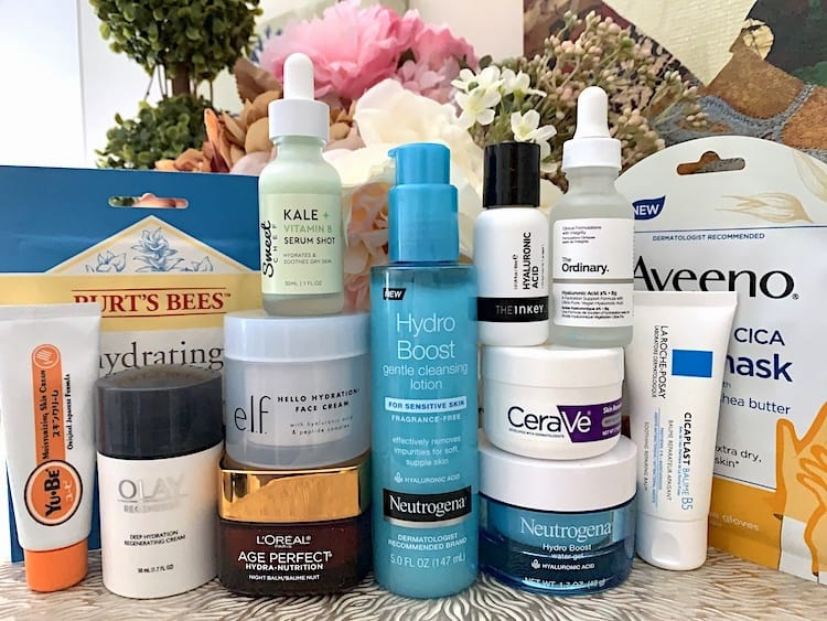 Drugstore Skincare Treatments For Dry Dehydrated Skin A Beauty