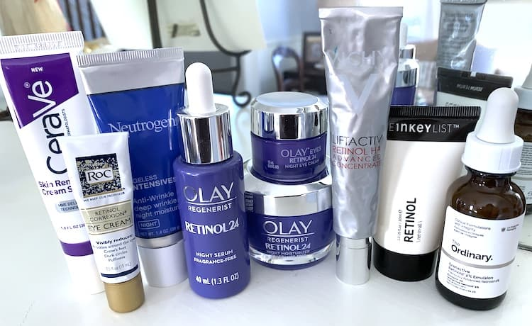 Drugstore Retinol Treatments