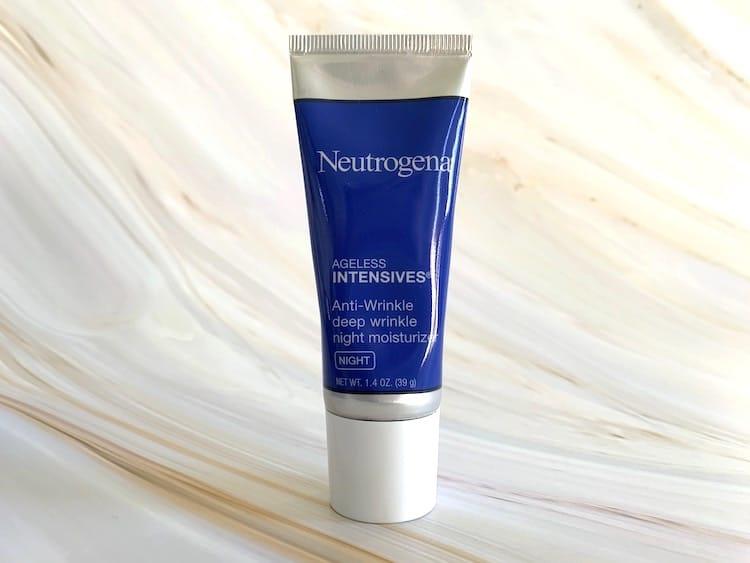 Neutrogena Ageless Intensives Anti Wrinkle Deep Night Moisturizer