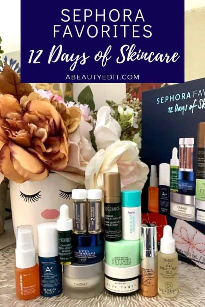 Sephora Favorites - 12 Days of Skincare Collection