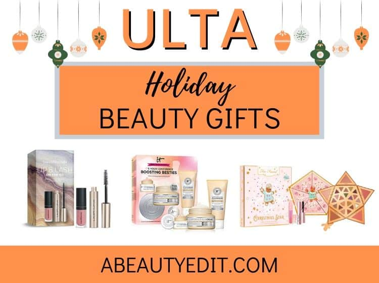 ULTA Holiday Beauty Gifts Collage - Skincare, Makeup and Haircare