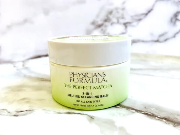 Drugstore Skincare Dupes: Physicians Formula The Perfect Matcha 3-In-1 Melting Cleansing Balm
