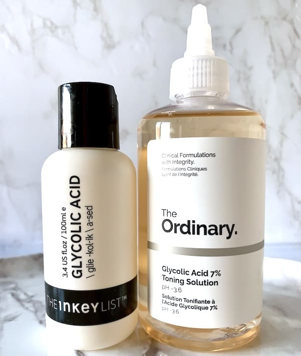 The Inkey List vs The Ordinary Glycolic Acids