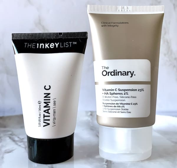 The Inkey List Vitamin C vs. The Ordinary - Budget Skincare Comparison