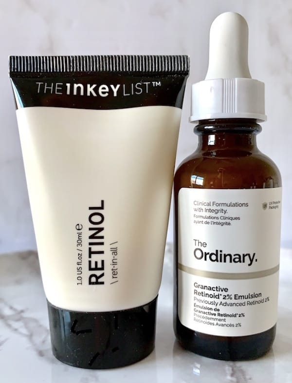 The Inkey List & The Ordinary Retinol Treatments