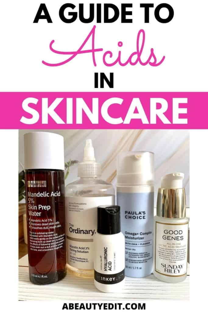 A Guide to Acids in Skincare