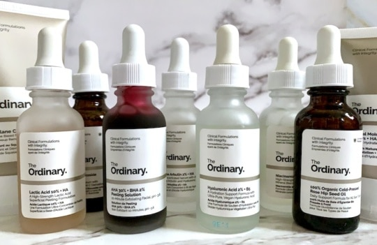 The Ordinary Anti-Aging Skincare Products