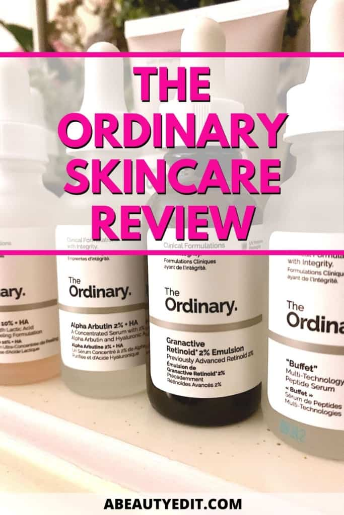 The Ordinary Anti-Aging Skincare Review