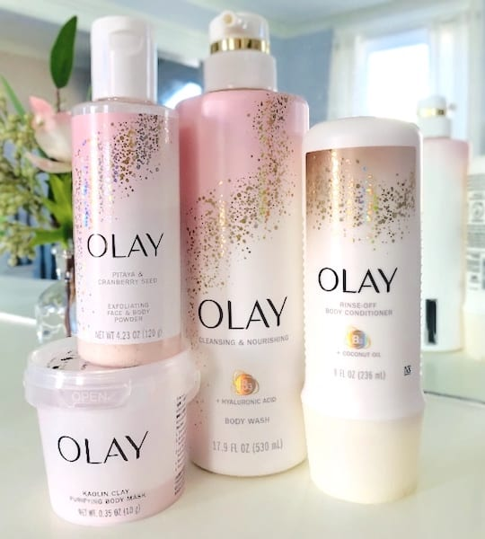 Olay Cleansing and Exfoliating Body Skincare Products