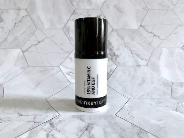 The Inkey List 15% Vitamin C and EGF Brightening Serum