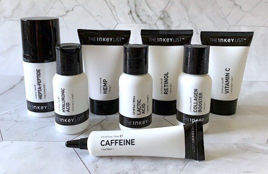 The Inkey List Skincare Collection