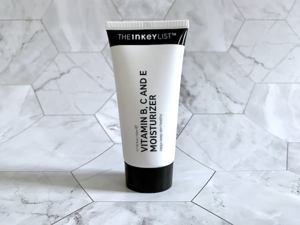 The Inkey List Vitamin B, C and E Moisturizer