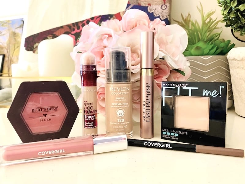 Drugstore Makeup Products from Revlon, Burt's Bees, CoverGirl, Maybelline