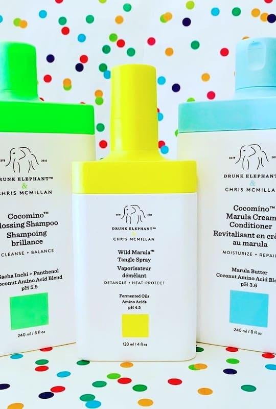 Drunk Elephanta Haircare - Shampoo, Conditioner & Tangle Spray