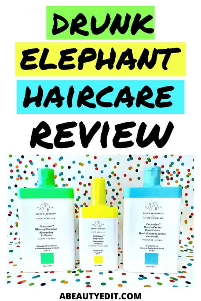 Drunk Elephant Haircare Review