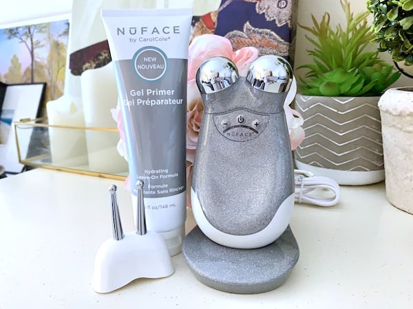 Nuface Trinity with Eye and Lip Enchancer and Gel Primer