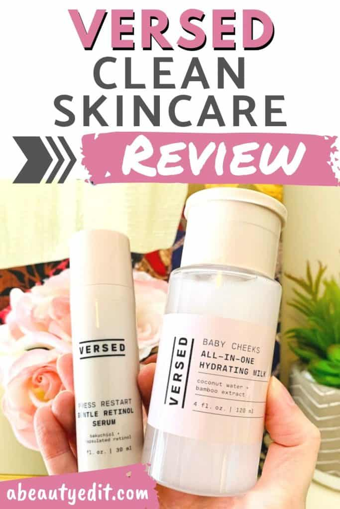 Versed Clean Skincare Review