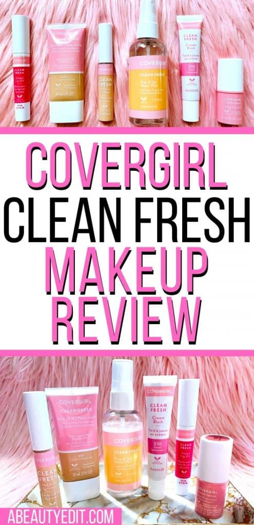 CoverGirl Clean Fresh Makeup Review