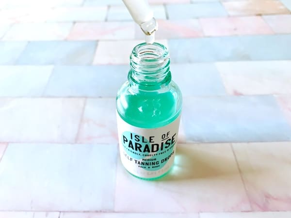 Isle of Paradise Medium Self Tanning Drops with Dropper