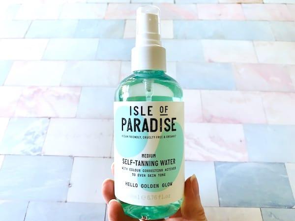 Isle of Paradise Medium Self Tanning Water