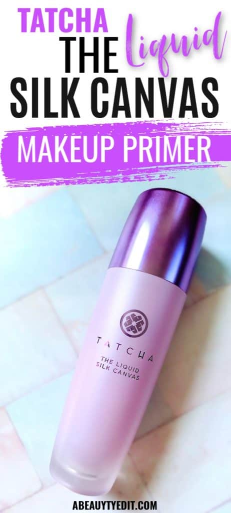 Tatcha The Liquid Silk Canvas Makeup Primer