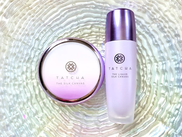 Tatcha The Silk Canvas and The Liquid Silk Canvas Makeup Primer