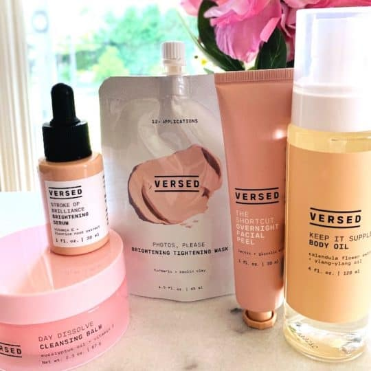 Versed Clean Skincare - Cleanser, Serum, Mask, Body Oil and Peel